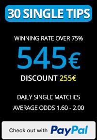 Soccertipsio.com 30 Single tips