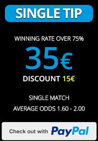 Soccertipsio.com Single tip